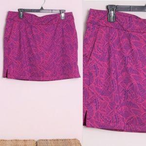 NWT Vineyard Vines Tropic Print Golf Skirt M